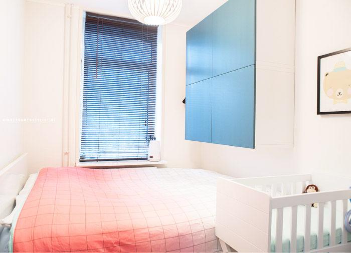 Babykamer In Hoek : Babykamer klein kinderkamerstylist