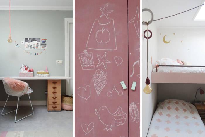 Kinderkamer Met Hoogslaper.Stapelbed Kinderkamerstylist