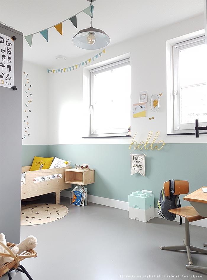 Peuter slaapkamer jongen kinderkamerstylist - Kamer jongensmeisje ...