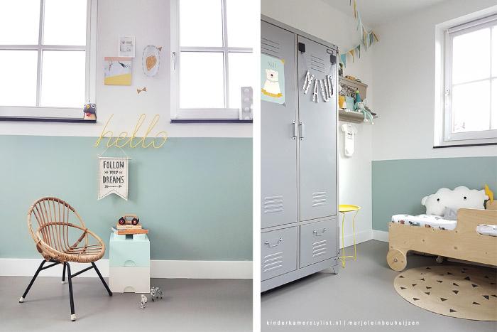 Kinderkamer kinderkamerstylist - Deco kamer jongen jaar ...