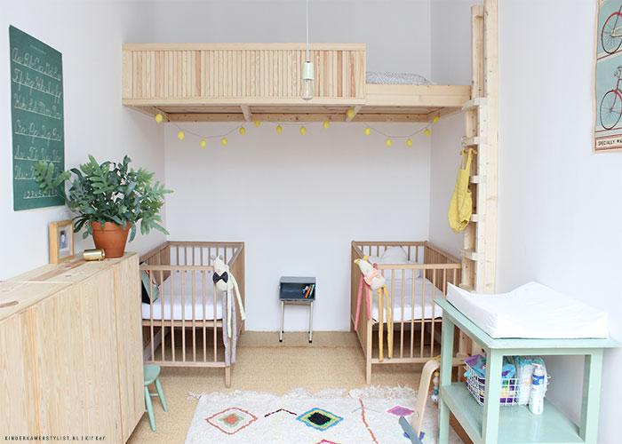 Slaapkamer delen kinderkamerstylist