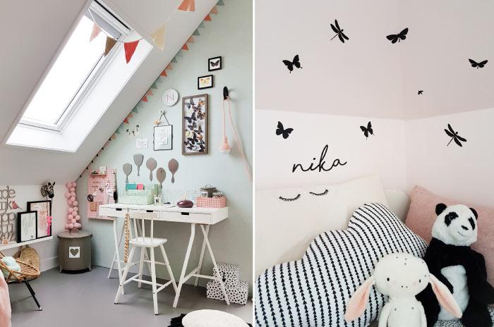 Tipi Tent Kinderkamer : Kinderkamer vlinder kinderkamerstylist