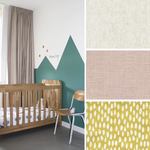 deze onwijs fijne gordijnen zijn de perfecte basis of final touch voor in elke kinder of babykamer