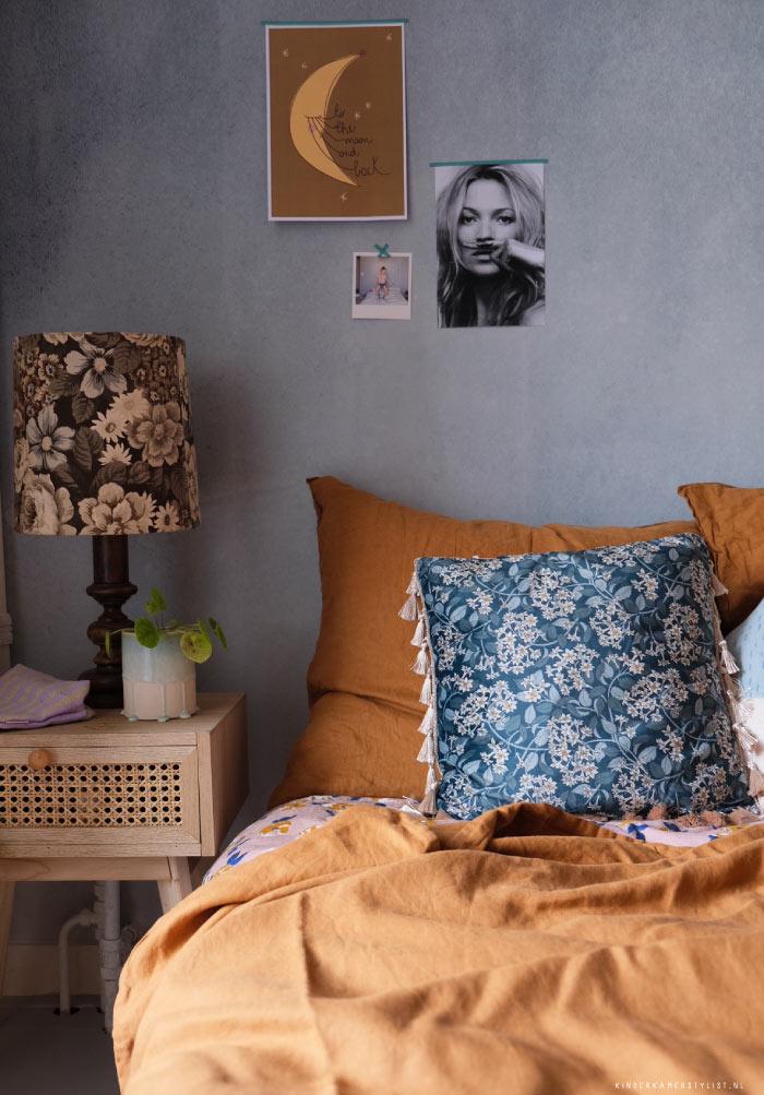Photowall behang watercolour grey
