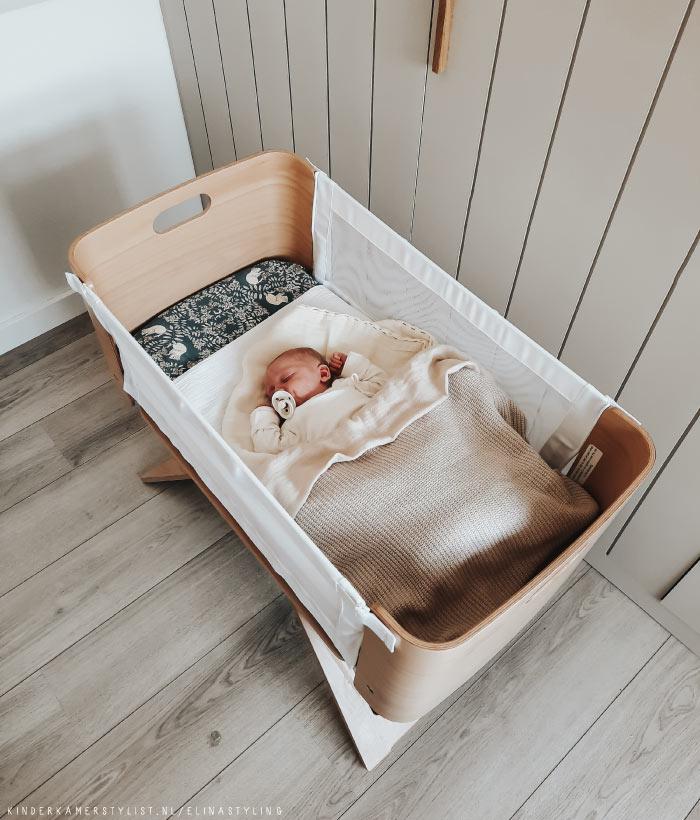 Babybedje opmaken