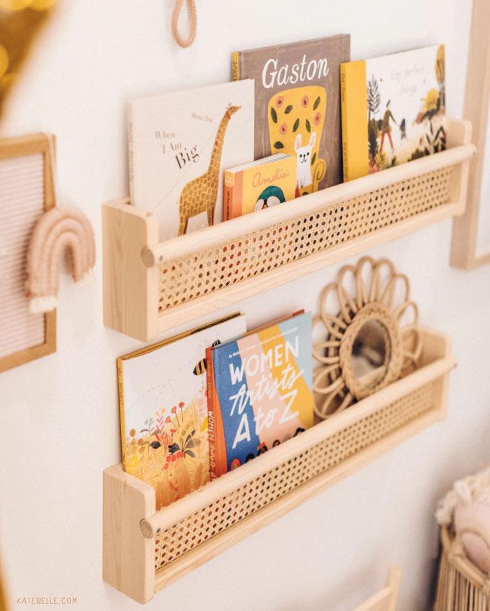 Ikea hack boekenrek