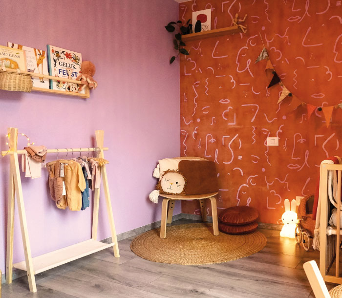 Kinderkamer behang