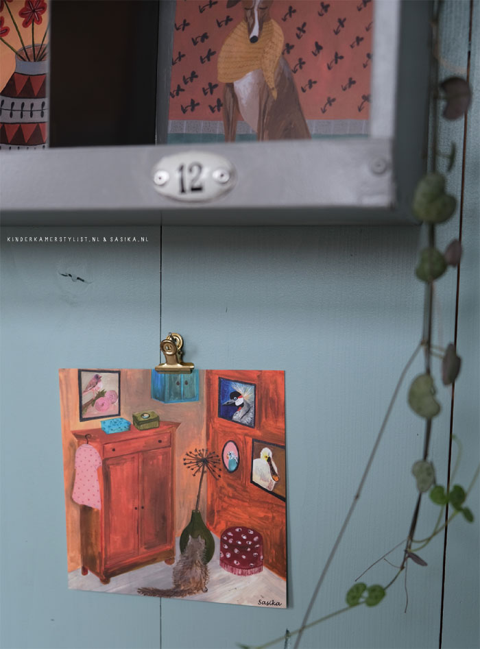 Kinderkamer schilderij