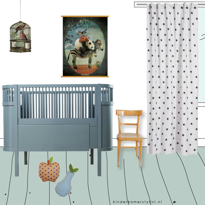 aankleding babykamer kinderkamerstylist