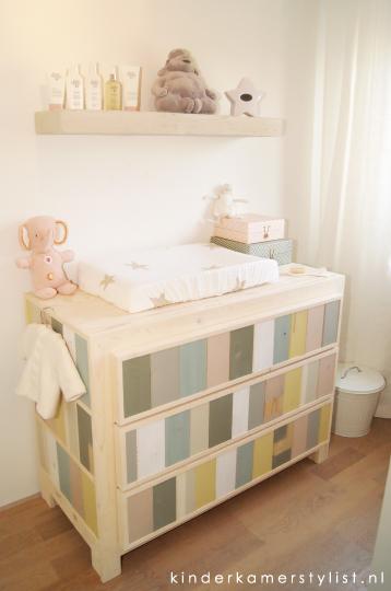Babykamer noa kinderkamer en babykamer inspiratie - Kleur van slaapkamer meisje ...