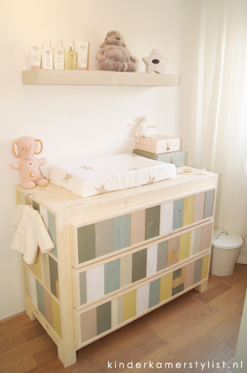Kinderkamer pastel babykamer noa kinderkamer en inspiratie babykamer meisje pinterest kleuren - Verf babykamer ...