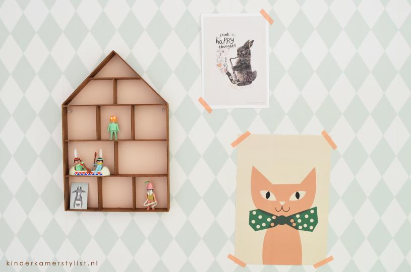 Poster Babykamer Pastel : Babykamer kinderkamerstylist