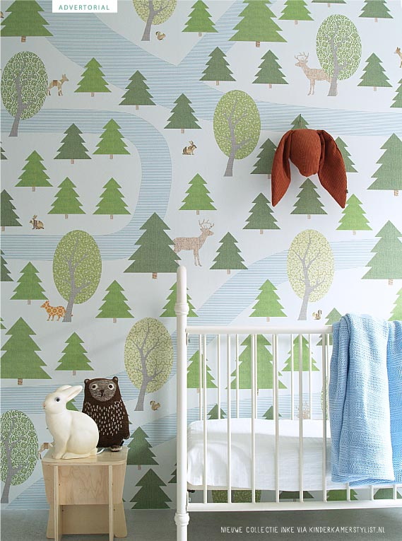 Behang Kinderkamer Vissen: Vissen behang graham and brown.