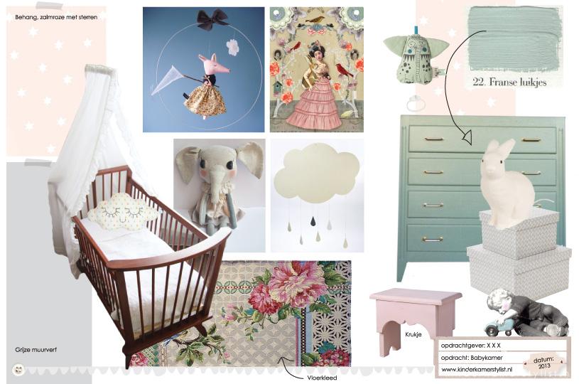 behang babykamer pastel ~ lactate for ., Deco ideeën