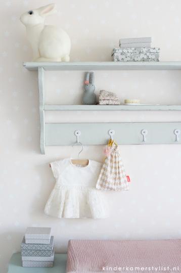 Babykamer pastel : Kinderkamerstylist