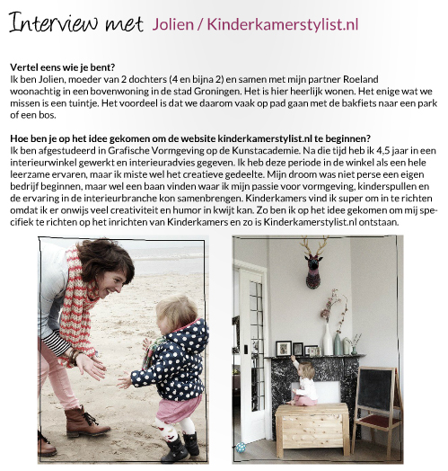 Kinderkamerstylist Interview Authentique Mignon