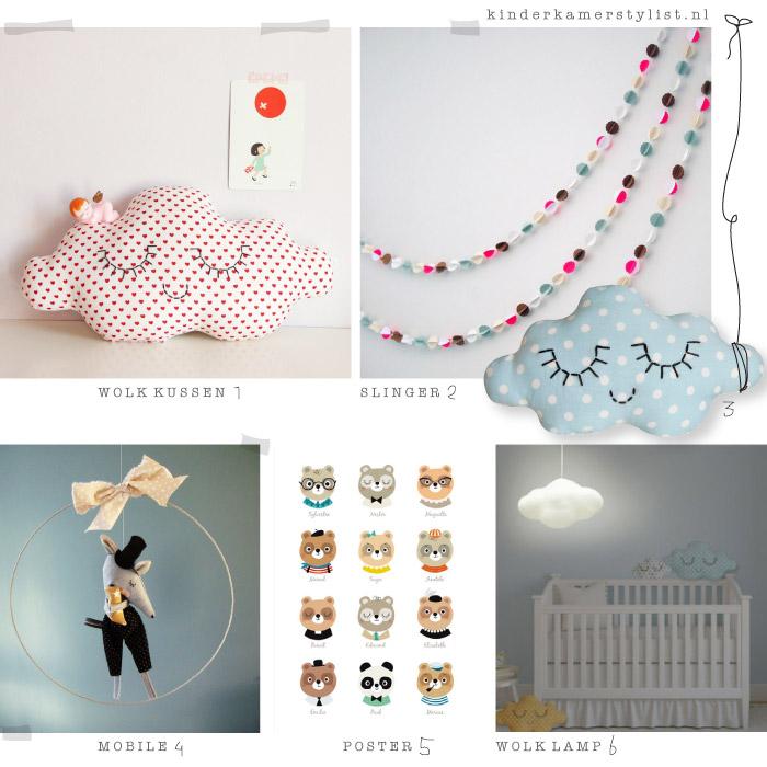 Spiksplinternieuw Franse kinderkamer decoratie | Kinderkamerstylist GB-93