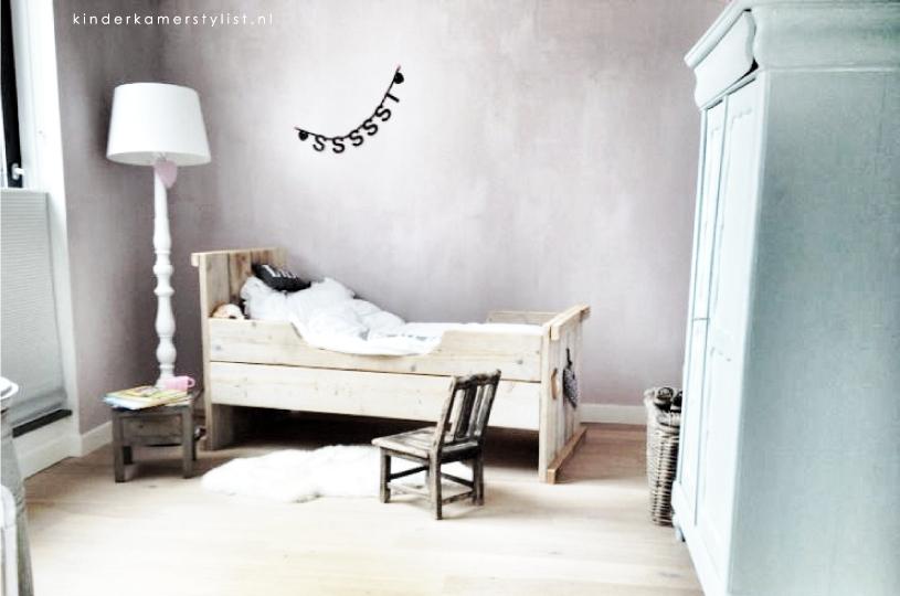 Gedeelde kinderkamer kinderkamerstylist - Room muur van de baby ...
