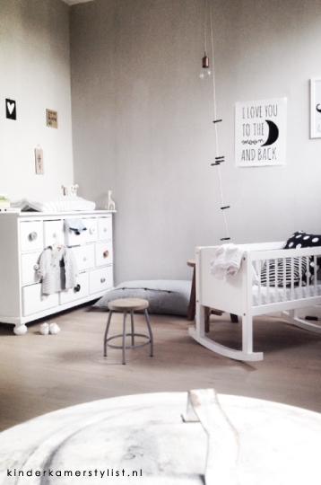 junior slaapkamer ideeen : Babykamer Kinderkamer en Babykamer ...