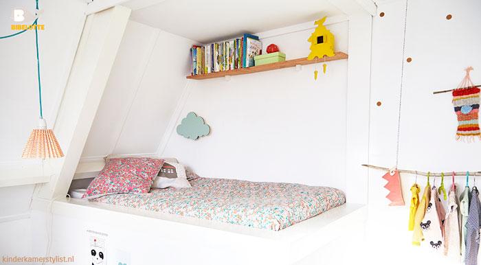 Gedeelde kinderkamer idee n kinderkamerstylist - Slaapkamer van een meisje ...