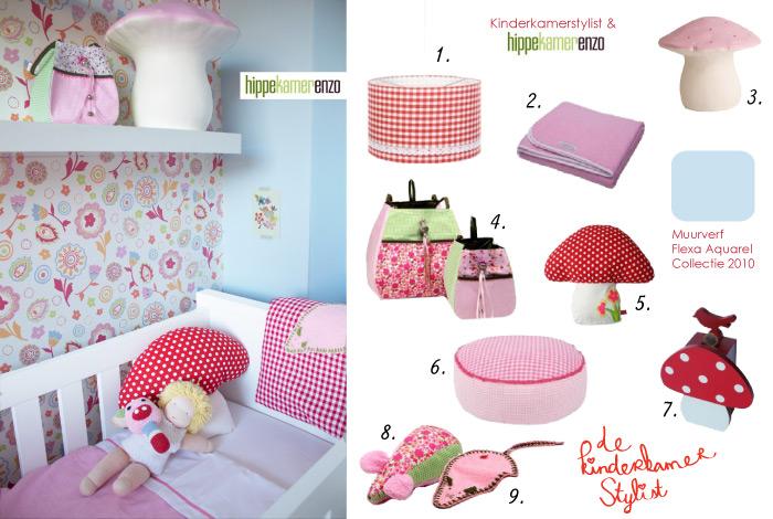 Kinderkamer styling hippekamerenzo kinderkamerstylist - Decoratie roze kamer ...