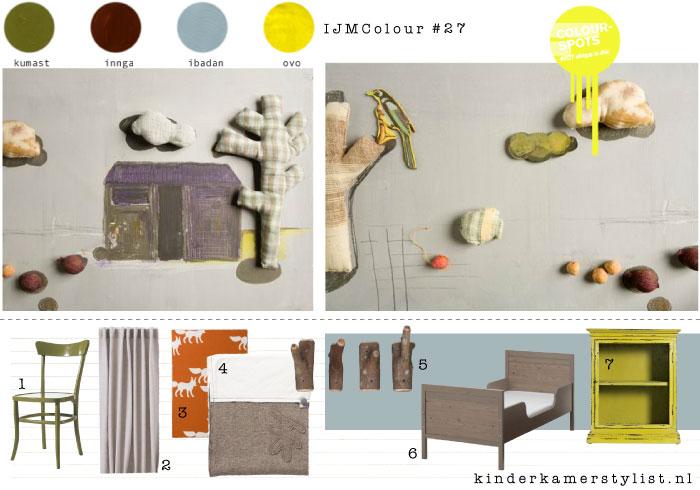 Kinderkamer kleur inspiratie kinderkamerstylist - Kamer voor jaar oude jongen ...