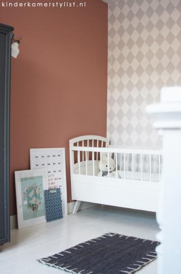 Inspiratie babykamer kinderkamerstylist - Muur kleur babykamer meisje ...