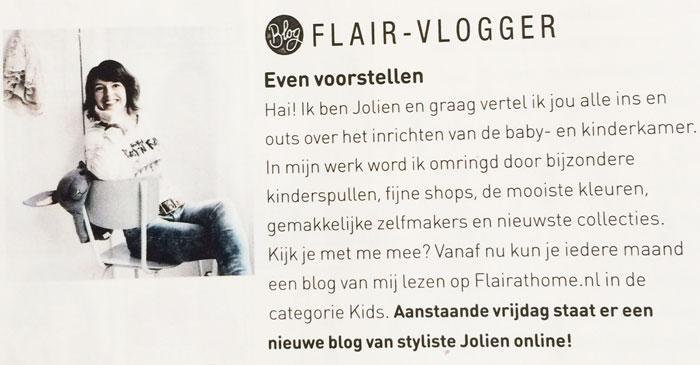 Jolien Kadijk Flair blogger
