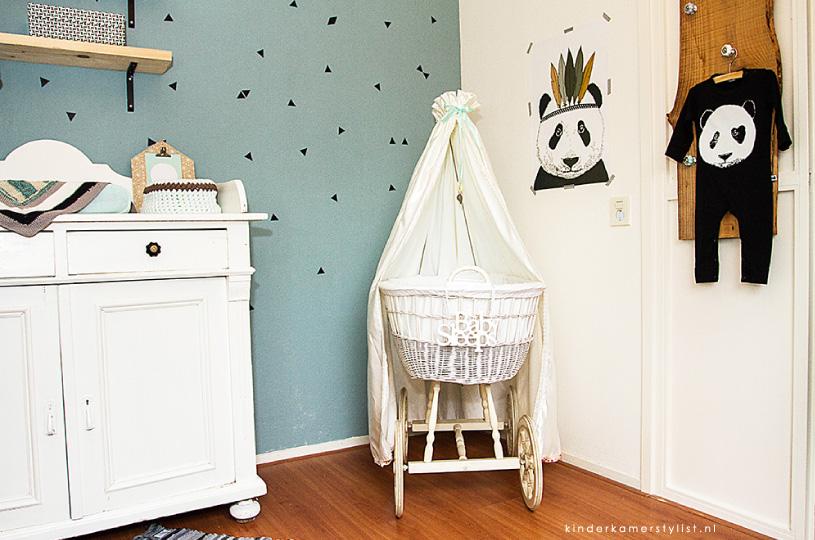 Gordijn Babykamer Babykamers : Babykamer kinderkamerstylist