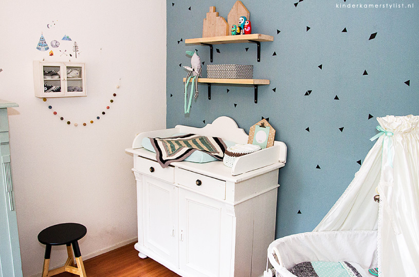 Babykamer Ideeën Muur : Jongenskamer Kinderkamerstylist