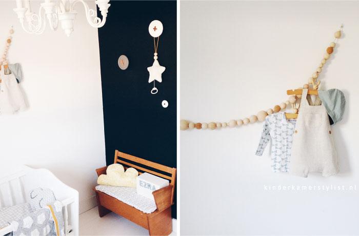 Muurversiering Kinderkamer: Muurdecoratie van muurmetstijl.