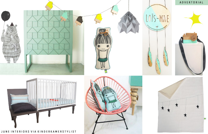 June interior kindermeubels via Kinderkamerstylist.nl