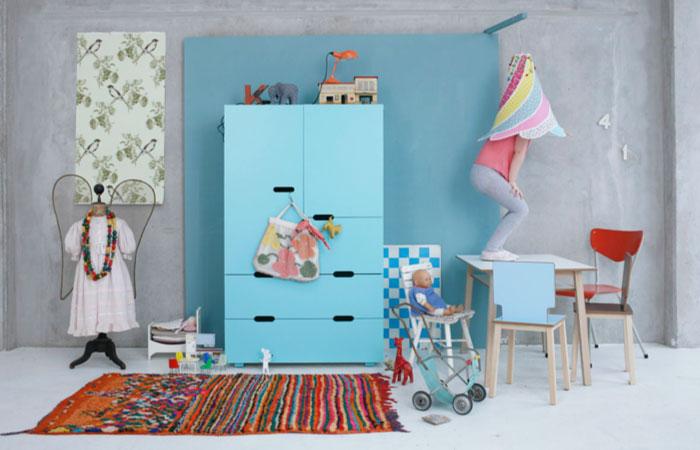 Kleurrijk kinderkamerstylist for Kleur kinderkamer