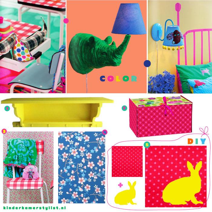 kleurrijk | kinderkamerstylist, Deco ideeën