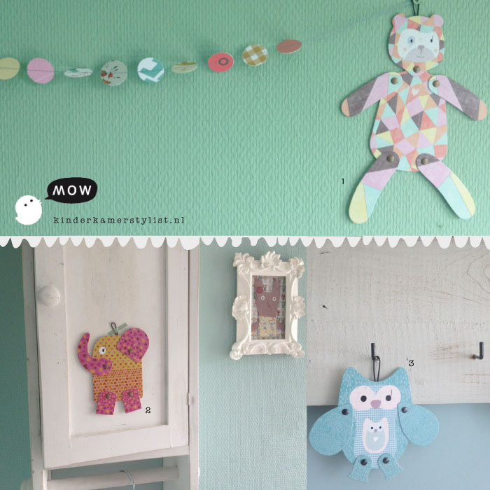 animal puppetsmow | kinderkamer decoratie | kinderkamerstylist, Deco ideeën