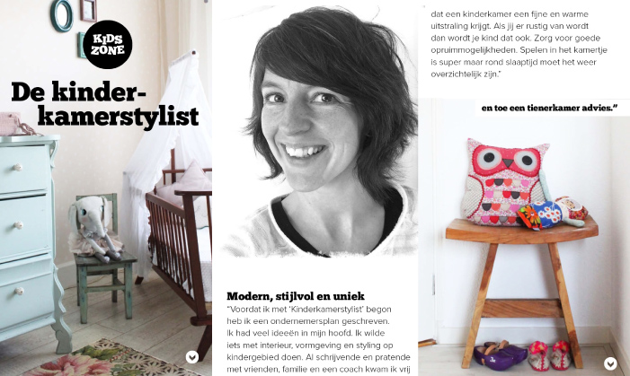 interview kinderkamerstylist STEK magazine
