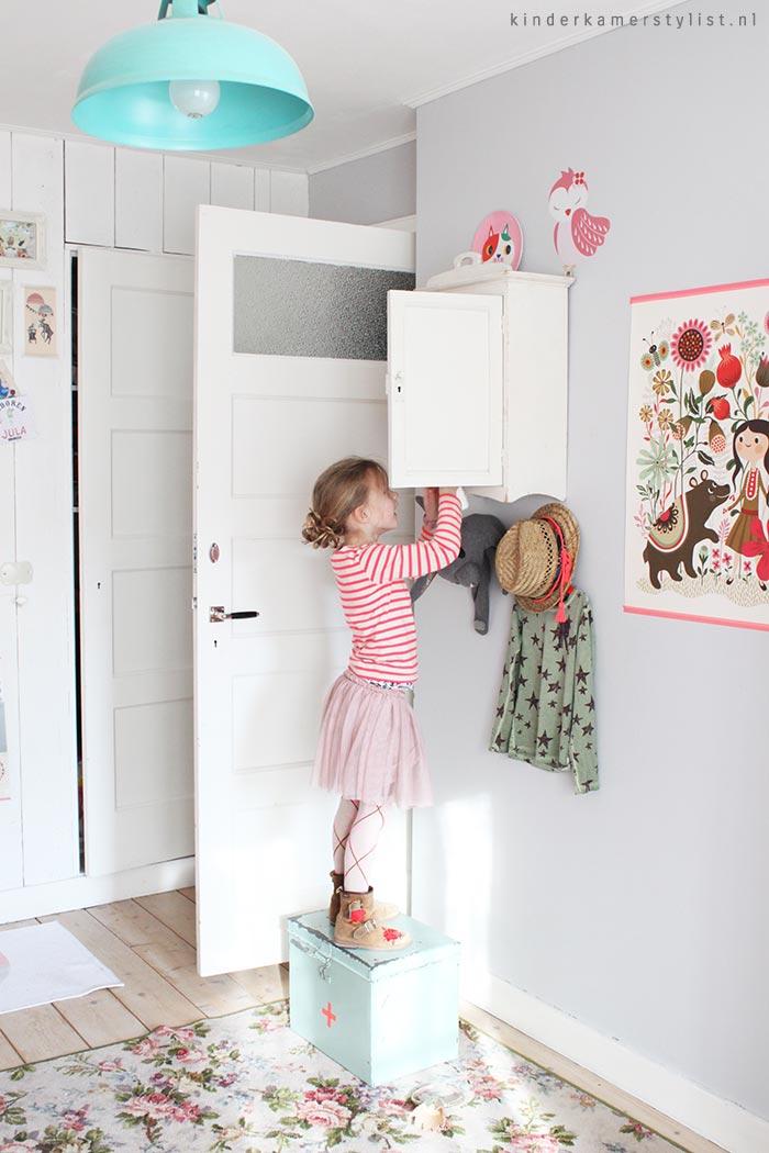 Landelijke kinderkamer kinderkamer en babykamer inspiratie - Hoe roze verf ...