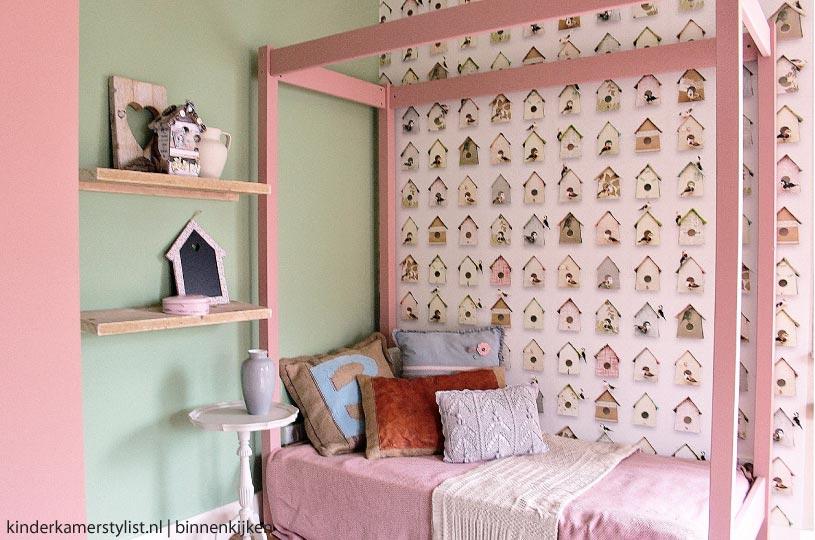 Meidenkamer huis grietje rianne kinderkamer en babykamer inspiratie - Kleur kamer volwassene idee foto ...