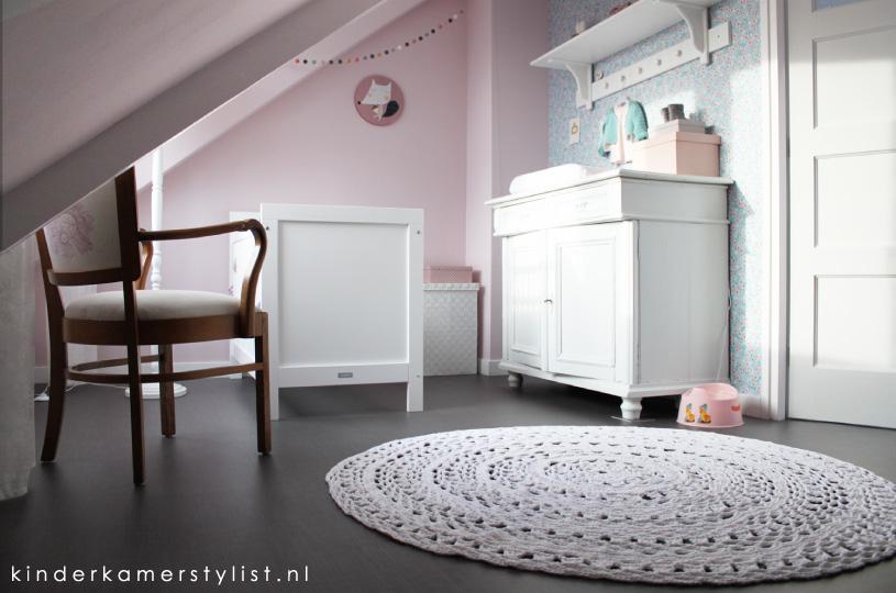 Inspiratie inspiratie rustige slaapkamer : Meisjeskamer : Kinderkamerstylist