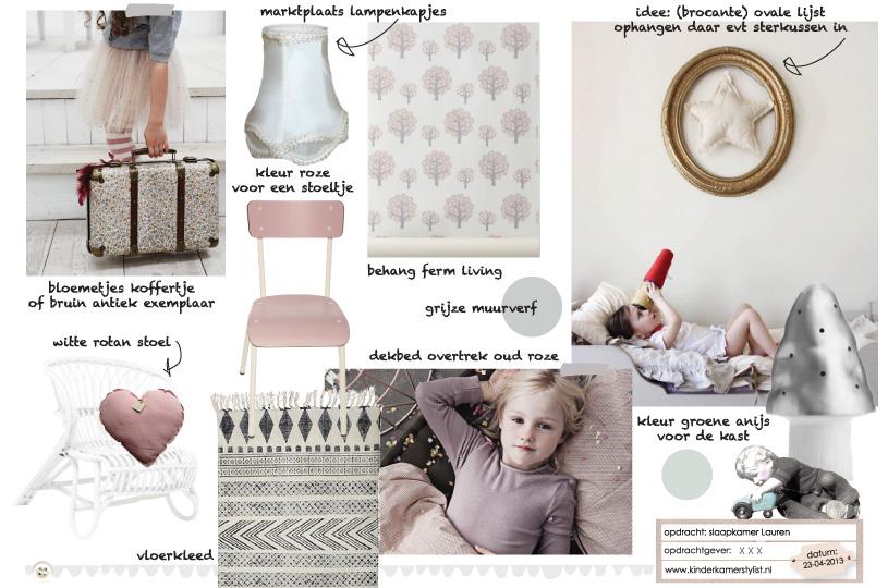 Meisjeskamer kinderkamer en babykamer inspiratie - Meisjes kamer jaar ...