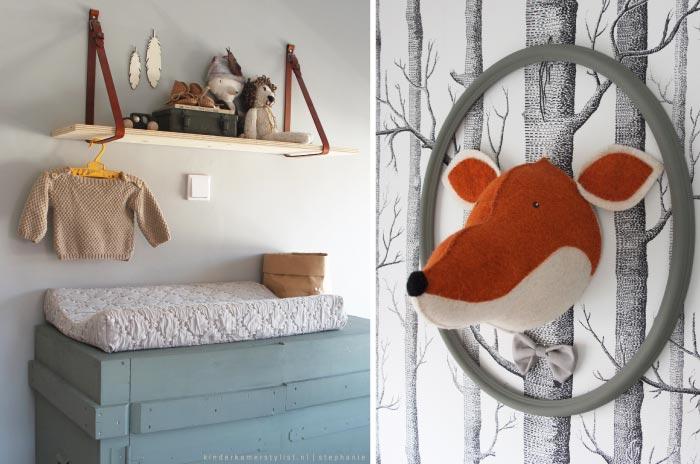 babykamer bos thema: inspiratie voor de babykamer nieuws hippe mama s., Deco ideeën