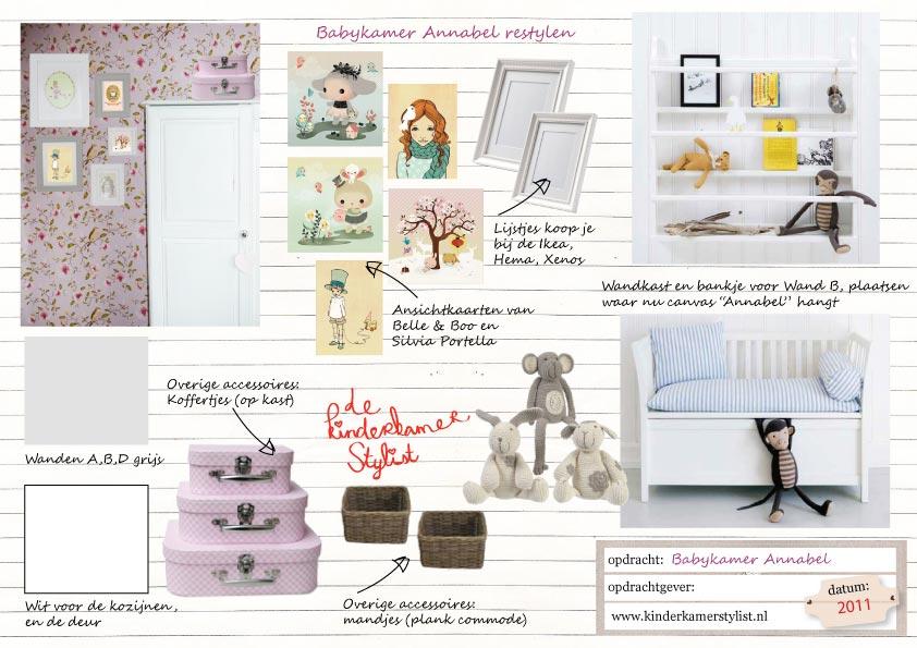 Behang Babykamer Romantisch : Restyling Babykamer meisje / Annabel ...