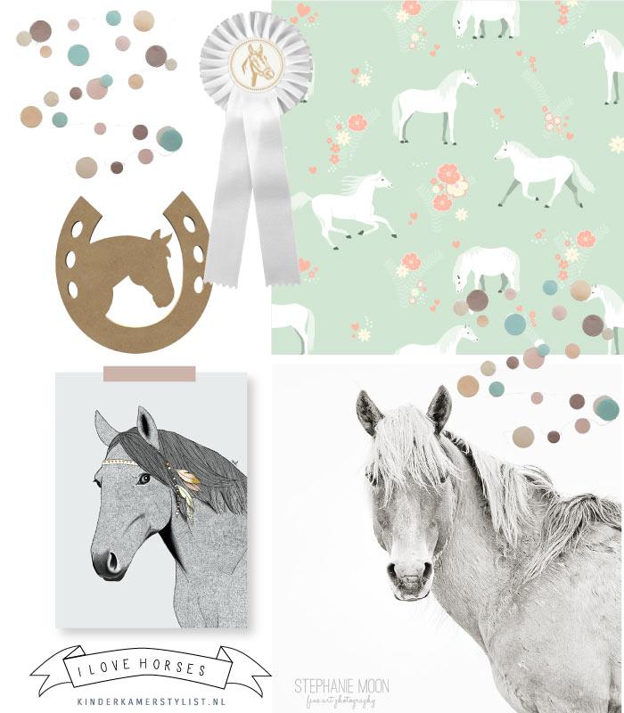 Paardenkamer kinderkamerstylist - Kamer paard meisje ...