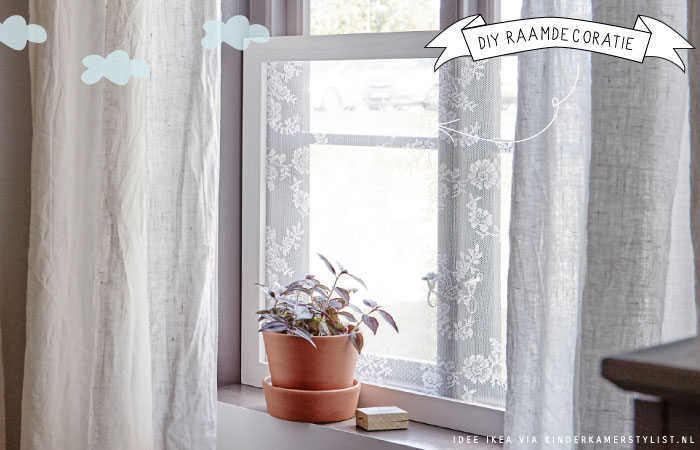 raamdecoratie kinderkamer