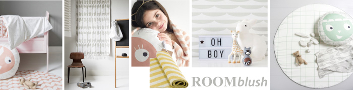 Roomblush mini collectie via Kinderkamerstylist.nl