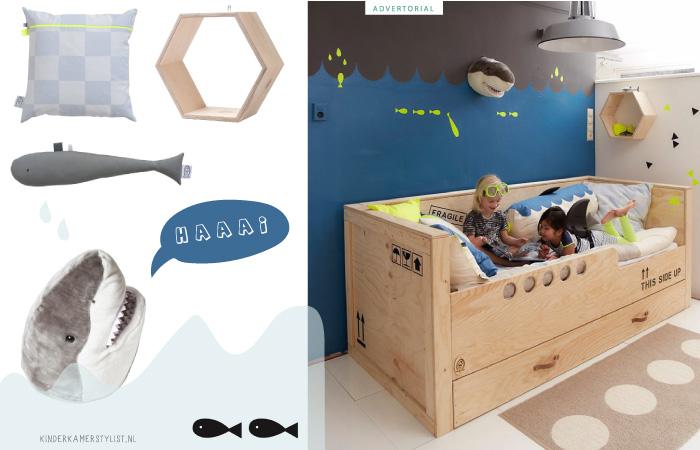 Kinderkamer Kinderkamer Thema : Thema kinderkamer onderwaterwereld zee