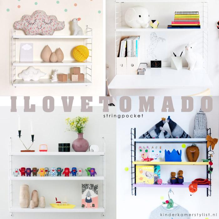 Zie afbeeldingen hieronder van diverse Tomado string pocket kastjes ...