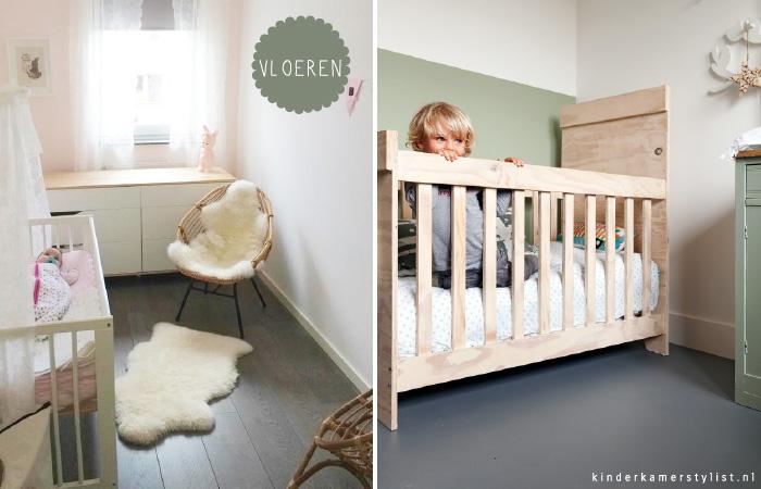Kinderkamer kinderkamer en babykamer inspiratie for Foto slaapkamer baby meisje