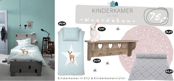 Winactie waardebon van kinderkamer in stijl kinderkamerstylist - Roze meid slaapkamer ...