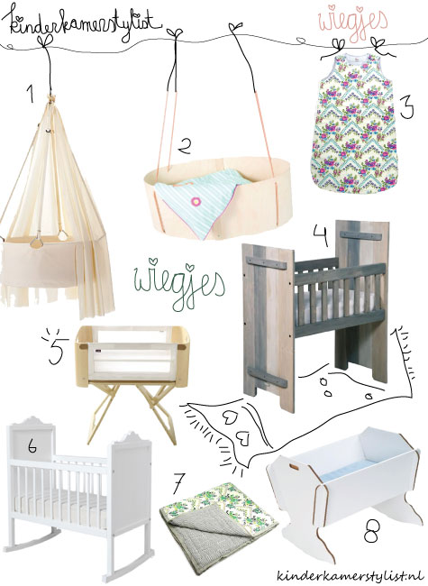 Wiegen idee babykamer kinderkamerstylist - Idee babykamer ...